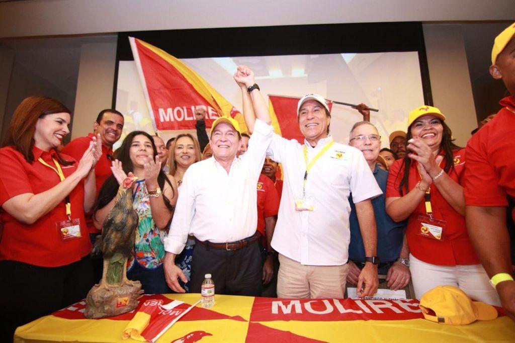 """Molirena apoyará a """"Nito"""" Cortizo"""
