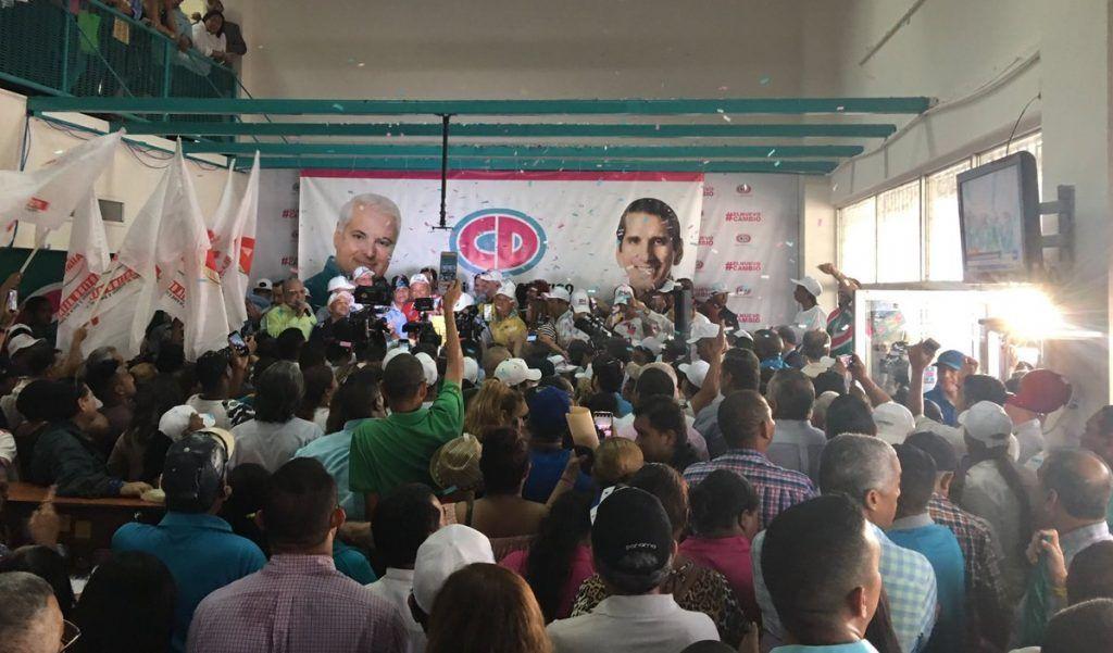 Martinelli es postulado a la Alcaldía de Panamá por CD y podría renunciar a la libre postulación