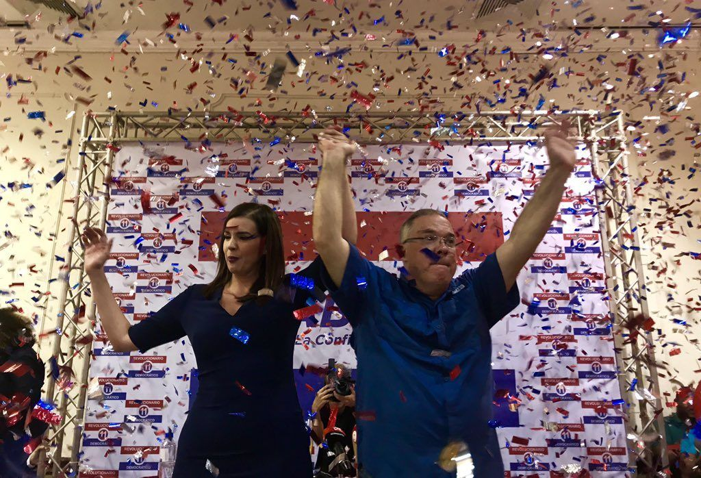 José Luis Fábrega anuncia a Judy Meana como compañera de fórmula
