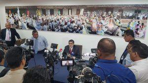 Candidatos presidenciales por libre postulación acuerdan posición en la papeleta