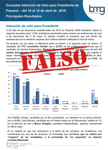 Encuestas Elecciones 2019