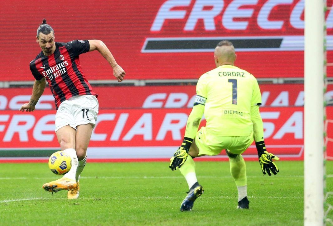 Milan sigue líder y Ibrahimovic supera los 500 goles en su carrera
