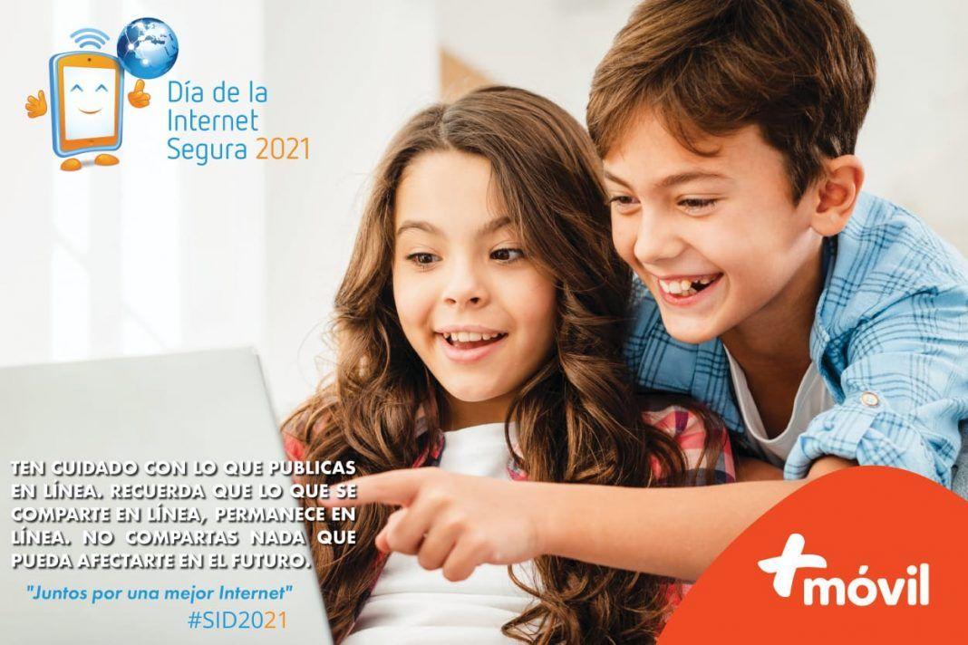 +Móvil conmemora el Día de la Internet Segura