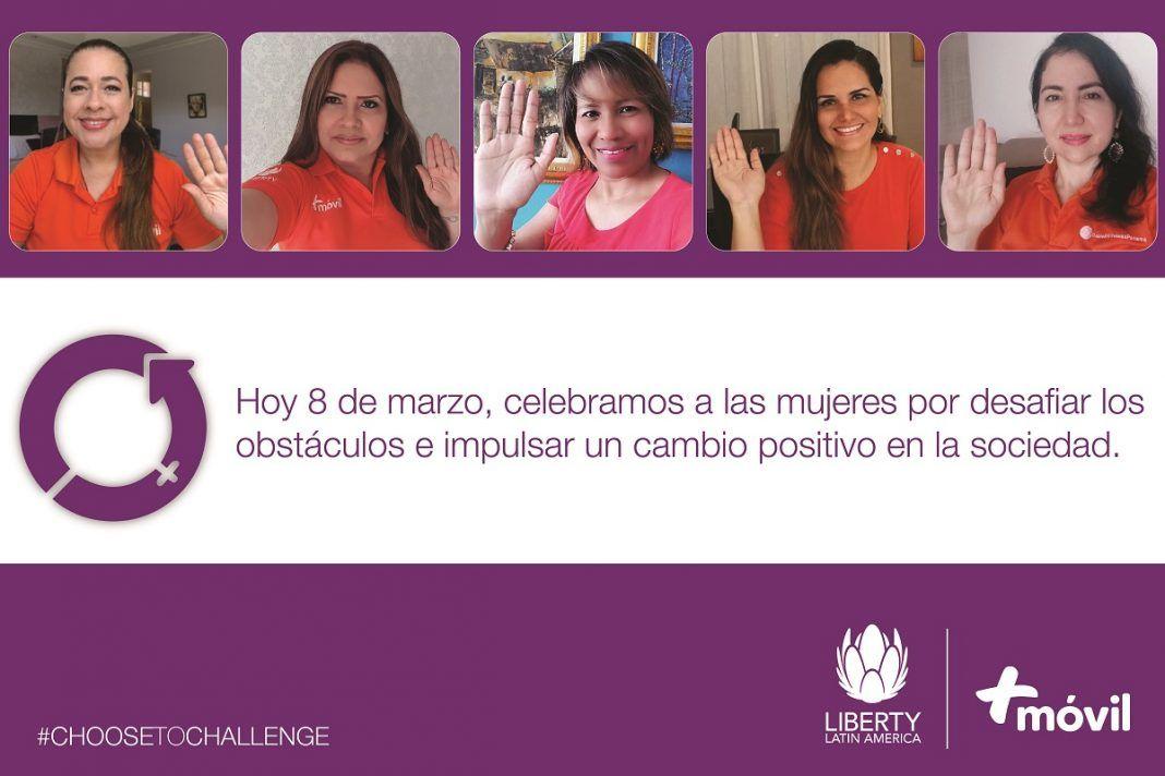 Liberty Latin America y +Móvil celebran el día internacional de la mujer